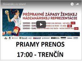 VIDEO - 2.priateľský zápas: Slovensko - Island 25:27 (10:10)