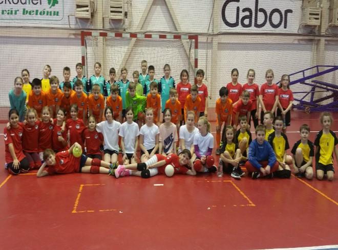 Mini Handball Cup TN s 2 našimi družstvami